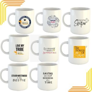 Set of 8 Mugs